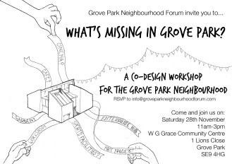 Flyer front bw